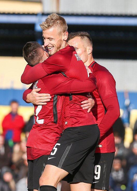 Utkání 3. kola fotbalového poháru MOL Cup mezi TJ Slavoj Polná a AC Sparta Praha.