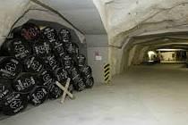 Úložiště jaderného odpadu. Ilustrační foto.