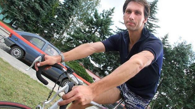 Martin Pojman se na start triatlonu Dřevěný muž postavil už potřetí.