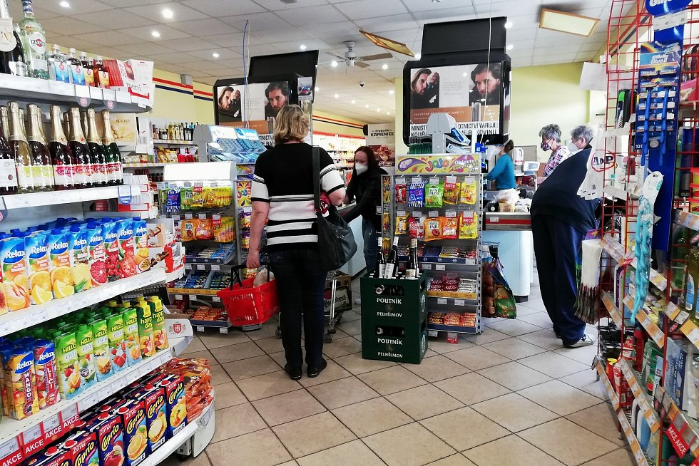 Supermarket. Ilustrační foto.