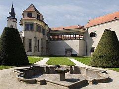 Zámecká kaple v Telči.