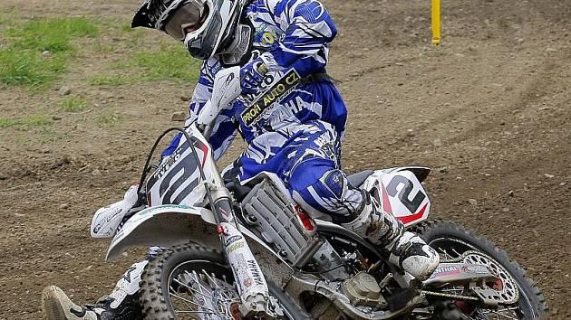 Pacovský areál Propad (na snímku Jiří Čepelák) bude opět dějištěm prvního závodu mezinárodního mistrovství republiky v motokrosu.