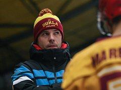 Trenér Karel Nekvasil by byl rád, kdyby jeho tým dnešní prověrku se Zlínem zvládl za tři body.