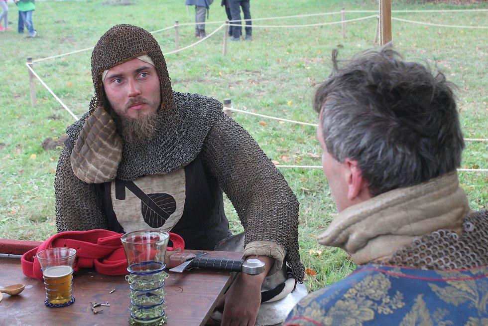 Středověký festival v Panské Lhotě.