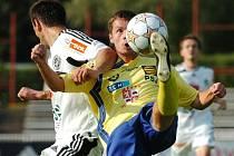 V posledním zápase Jihlava (ve žlutém Roman Drga) nebodovala. Ve šlágru druhé ligy prohrála v Hradci Králové. Nyní ji v domácím prostředí čeká Dukla Praha.