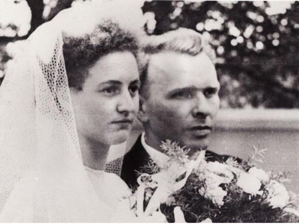 Svatba Jana a Karly Florianových v Žarošicích.