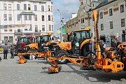 Masarykovo náměstí v Jihlavě ožilo aktivitami středních škol, zemědělců, chovatelů a dalších.