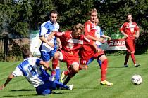 Dobrý rozjezd. Fotbalisté Sapeli Polná vyhráli už čtvrté utkání.