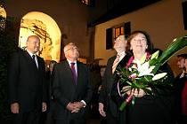 Prezidentský pár na Vysočině.
