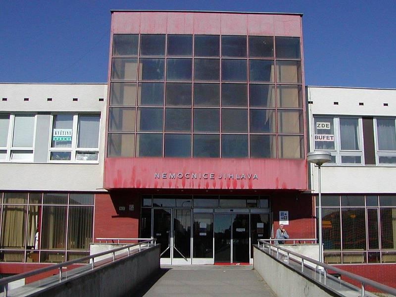 Nemocnice v Jihlavě. Její podoba před rekonstrukcí.