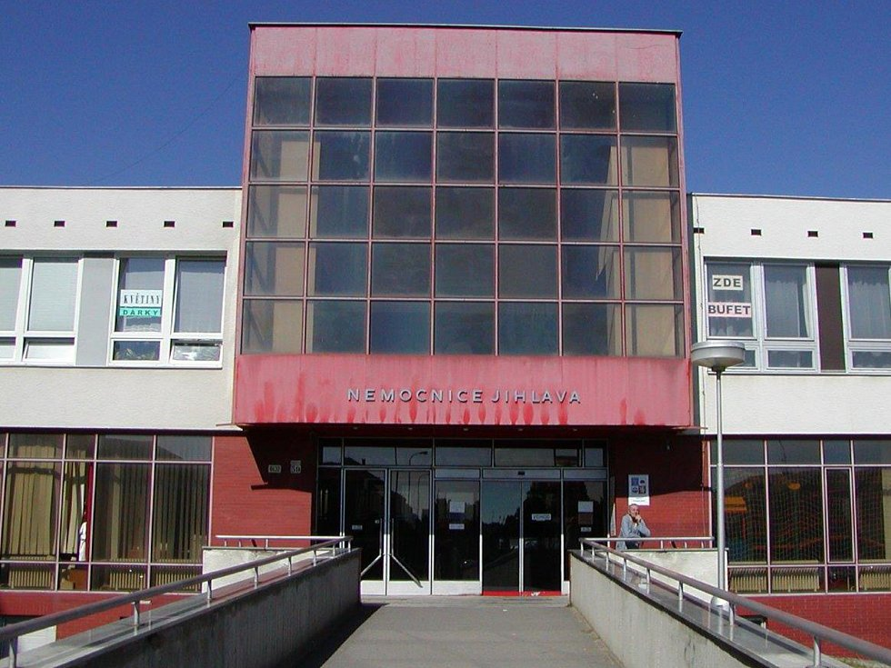 Nemocnice v Jihlavě.