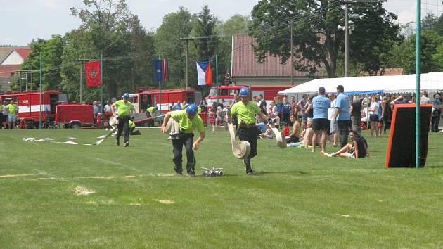 V Třeštici se konala okrsková soutěž hasičů z okrsku Třešť. Přijelo osm sborů dobrovolných hasičů, kteří se prali o prvenství ve čtyřech kategoriích.