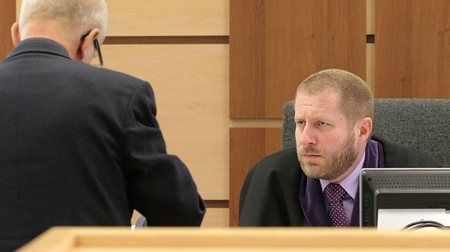 Soudce Zdeněk Chalupa.