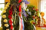 Poslední rozloučení s hokejovou legendou Jaroslavem Pittnerem.