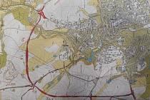 Součástí obchvatu budou mimo jiné tři okružní křižovatky.