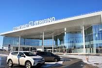 Nižnij Novgorod. Takto vypadá zvenčí nové letiště za více než jednu miliardu korun v ruském městě Nižnij Novgorod. Letiště v plném provozu funguje od 4. března.