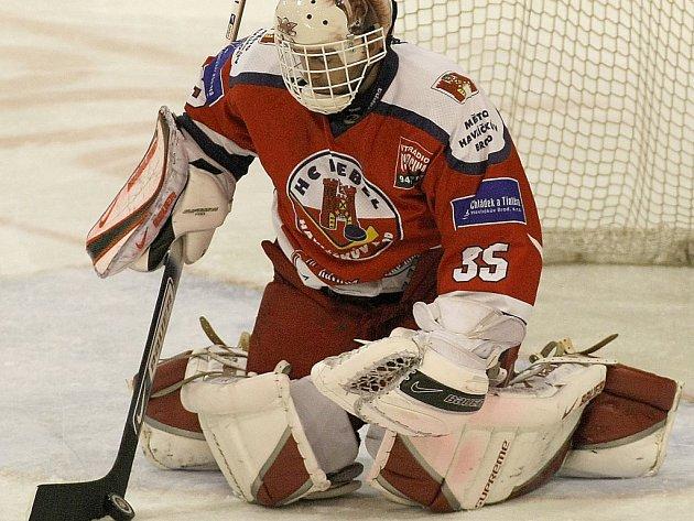 Gólman havlíčkobrodských Rebelů Jaroslav Suchan už je zase fit. Po zranění se dostal do formy v podstatě okamžitě a vychytal svému týmu už dvě výhry.