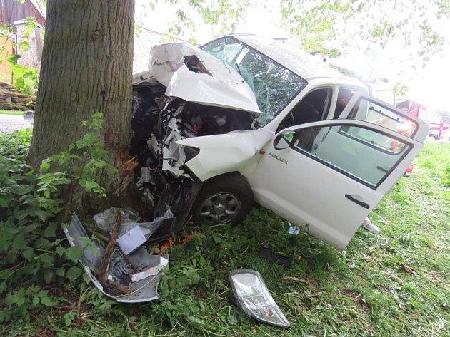 Tragická nehoda v Nové Vsi.