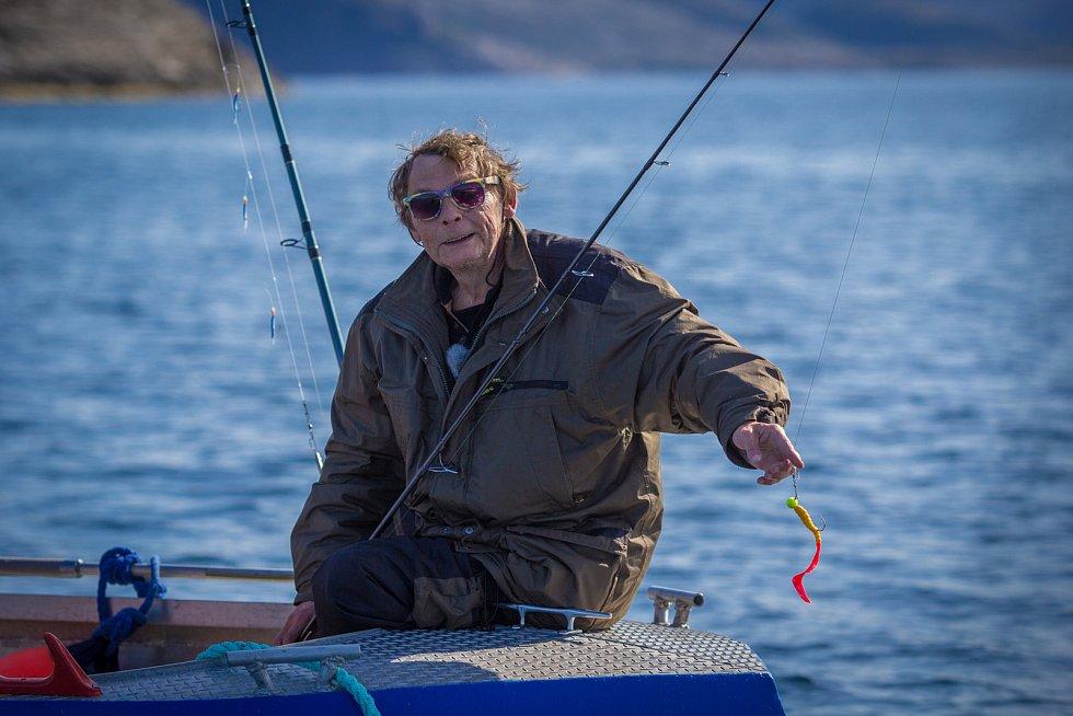 Hlavní roli ve filmu hrají rybáři z Jihlavy.