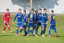 Pětkrát mohli hráči Jihlavy B slavit v derby gólový úspěch. Díky tomu se na radovali i z prvních bodů v sezoně!