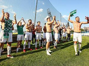 Zápas 30. kola první fotbalové ligy mezi FC Vysočina Jihlava a MFK Karviná.