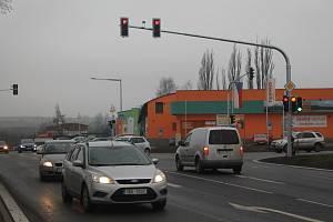 Slavnostní otevření křižovatky a parkoviště P+R proběhlo v půlce prosince.