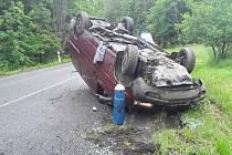 Dopravní nehoda u Kostelce na Jihlavsku