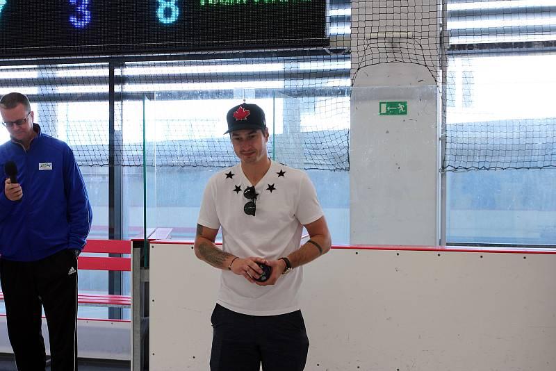 David Rittich na Mezinárodní česko-finské hokejové škole.