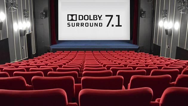 Kinosál v Polné po rekonstrukci.