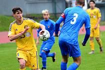 Fotbaloví mladší dorostenci U16 na Zbrojovku nestačili.