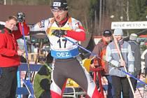 Český biatlonista Roman Dostál.