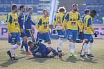 Zápas 19. kola první fotbalové ligy mezi FC Vysočina Jihlava a FK Teplice, 3. března 2018 v Jihlavě.