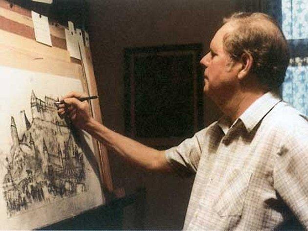 Akademický malíř Gustav Krum se narodil 23. května 1924 v Jihlavě, kde také strávil poslední měsíce svého života. V krajském městě nyní začíná výstava jeho obrazů.
