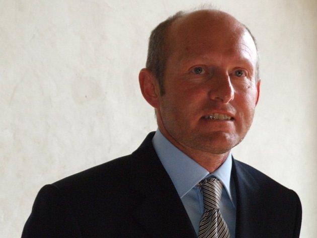Prezident jihlavského Rotary klubu Jaroslav Dobrovolný.