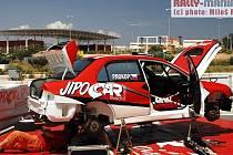 Se startovním číslem 63 vstoupila včera v podvečer do dalšího závodu světového šampionátu Rallye Akropolis posádka Martin Prokop - Jan Tománek.