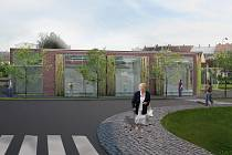 Investor počítá v této fázi oproti loňskému návrhu s menší zastavěnou plochou, aby nebyla příliš omezená plocha autobusového nádraží ani parkovací plochy.