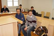 Ladislav Barák u soudu.