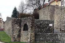 Jihlavské hradby.