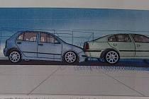 Podle programu pojišťovny si Ladislava Švestková z Jihlavy poškodila auto jinak ajinde. To, že má svědky i úřední záznam o nehodě od policie, je nezajímá.