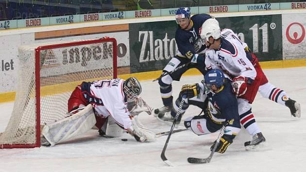 Havlíčkobrodští Rebelové se ve třech dnech utkají s dalším z favoritů první hokejové ligy. Do Kotliny dnes dorazí Ústečtí Lvi.