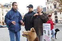 Setkání nevidomích lidí v Jihlavě