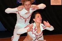 Mezinárodní soutěž v akrobatickém Rock and rollu v Jihlavě.