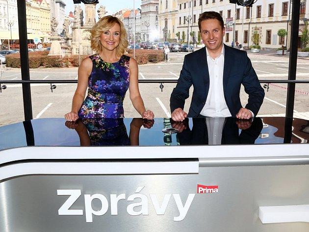 Zprávy z Masarykova náměstí v Jihlavě uvedou Terezie Kašparovská a Tomáš Hauptvogel.