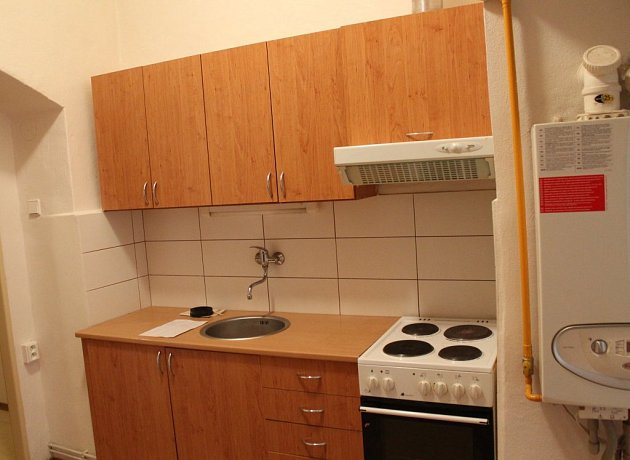 Toto je interiér bytů, které byly nabídnuty uprchlíkům od města Jihlavy.