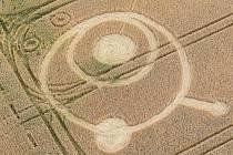 U Bílého Kamene se objevily kruhy v obilí