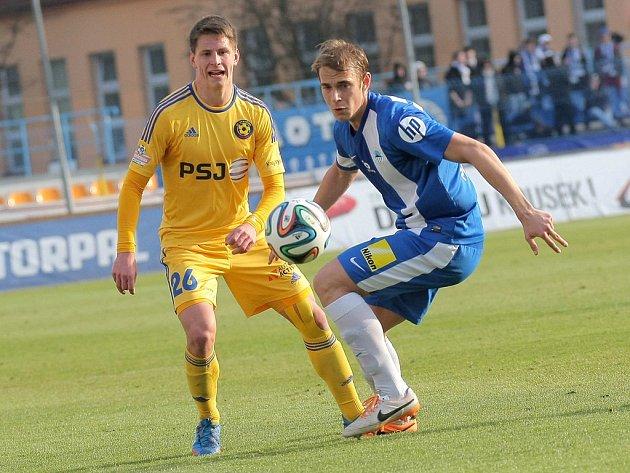 Záložník FC Vysočina Lukáš Masopust byl vyhlášen třetím největším talentem českého fotbalu. Alespoň částečně si tak mohl spravit náladu po nevydařeném nedělním duelu Jihlavy s Libercem.