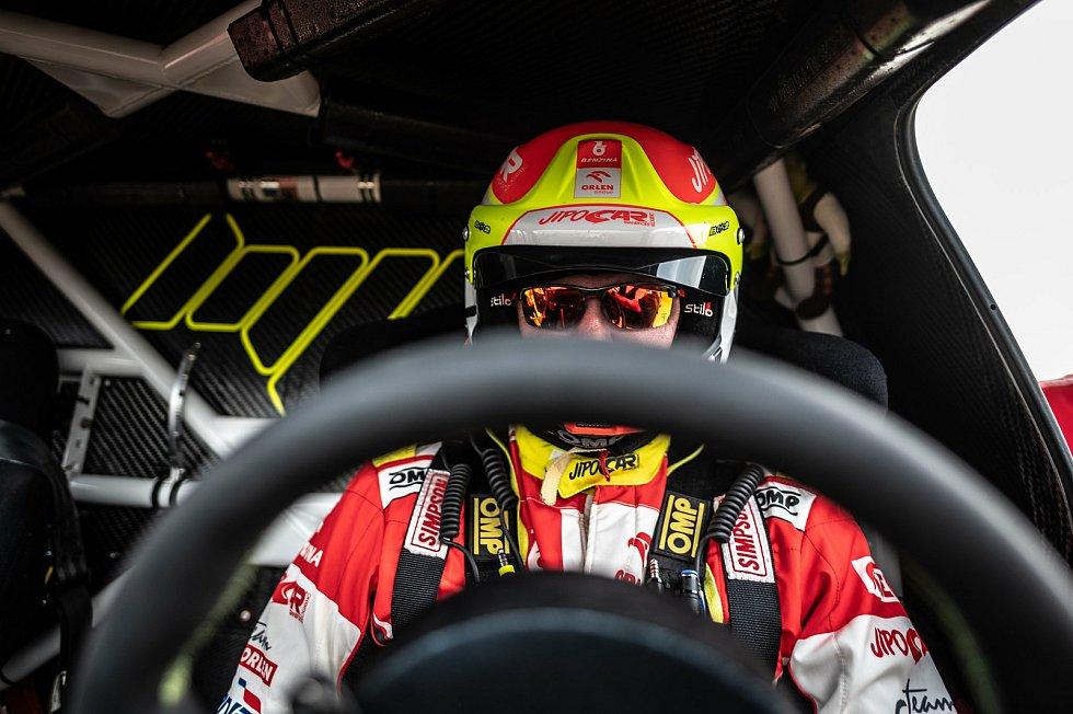 Martin Prokop za volantem.