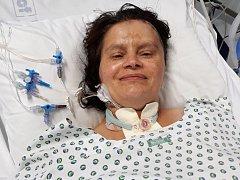 Chvíle, kdy byla Monika Frkalová v nemocnici, byly náročné pro oba partnery.