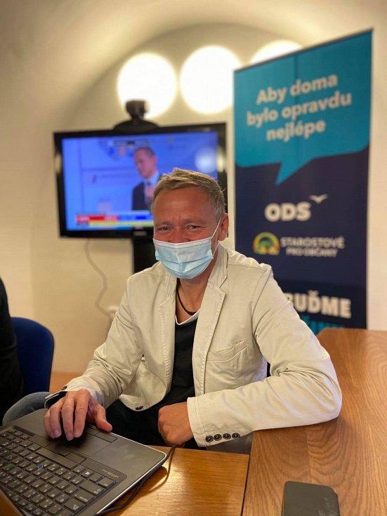 Lídr koalice ODS a Starostů pro občany a nový hejtman Vysočiny Vítězslav Schrek.
