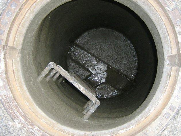 Ilustrační foto - kanalizační vpusť